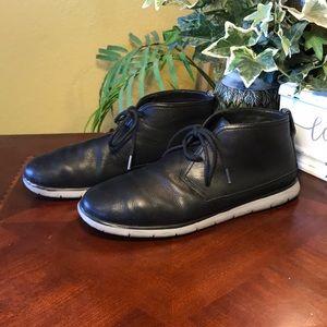 dfeeded6491 UGG Black Freamon Waterproof Chukka Boots
